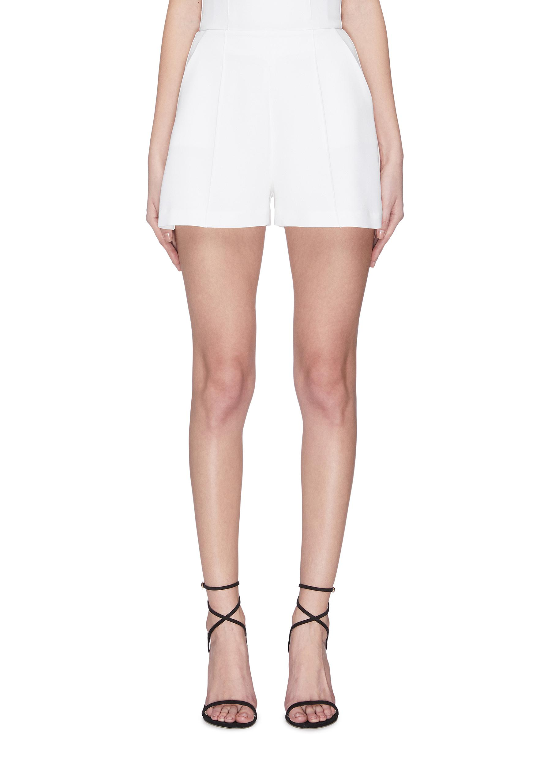 Buy Alex Perry Pants & Shorts Crepe mini shorts