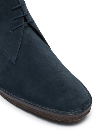 Detail View - Click To Enlarge - CONNOLLY - Suede driving boots