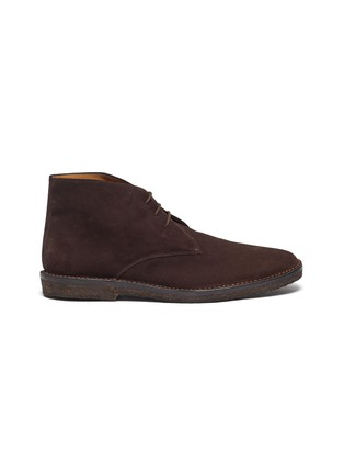 Main View - Click To Enlarge - CONNOLLY - Suede driving boots