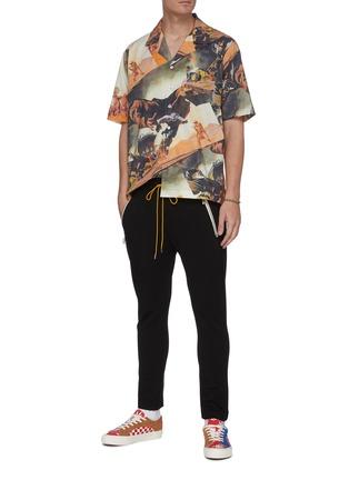 Figure View - Click To Enlarge - RHUDE - Gunslingers graphic print Hawaiian shirt