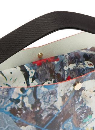 Detail View - Click To Enlarge - SACAI - Splatter print large tote