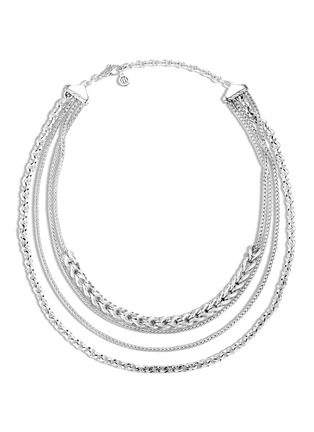 Main View - Click To Enlarge - JOHN HARDY - Asli Classic Chain' silver multi-row necklace