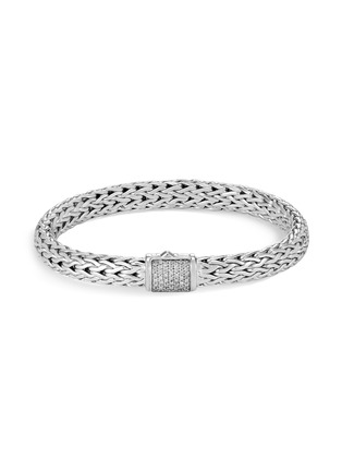 Main View - Click To Enlarge - JOHN HARDY - Classic Chain' diamond silver small bracelet