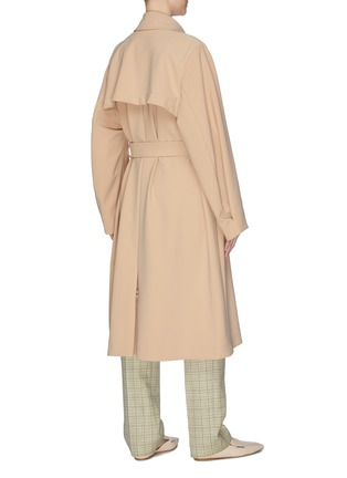 Back View - Click To Enlarge - NINA RICCI - Double breast trench coat