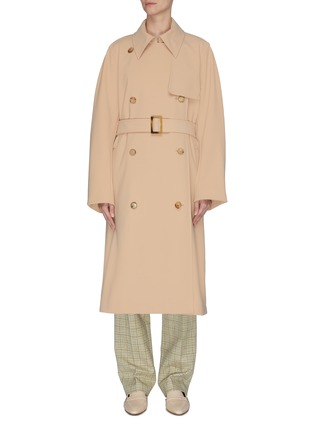 Main View - Click To Enlarge - NINA RICCI - Double breast trench coat
