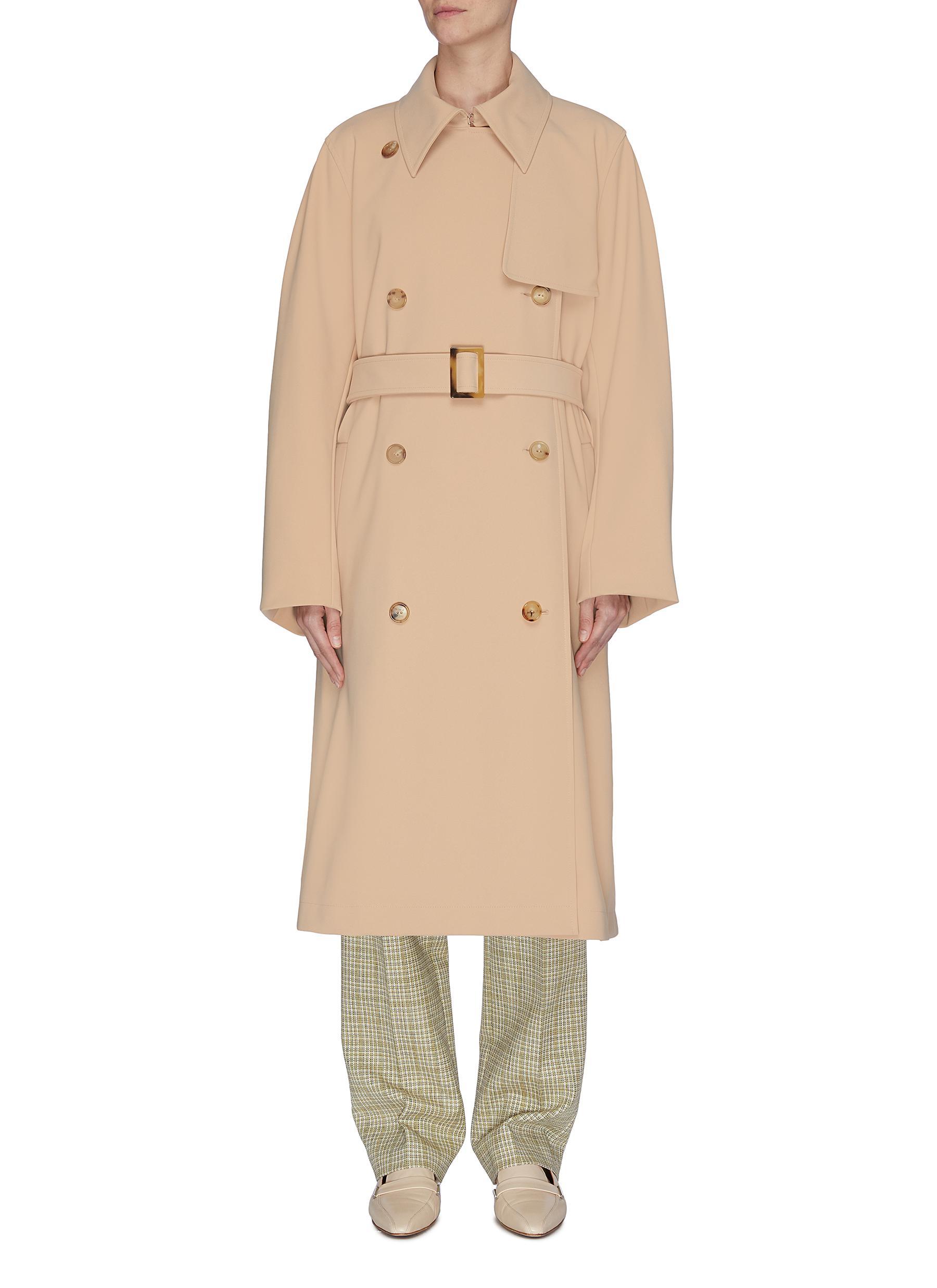 shop Nina Ricci Double breast trench coat online