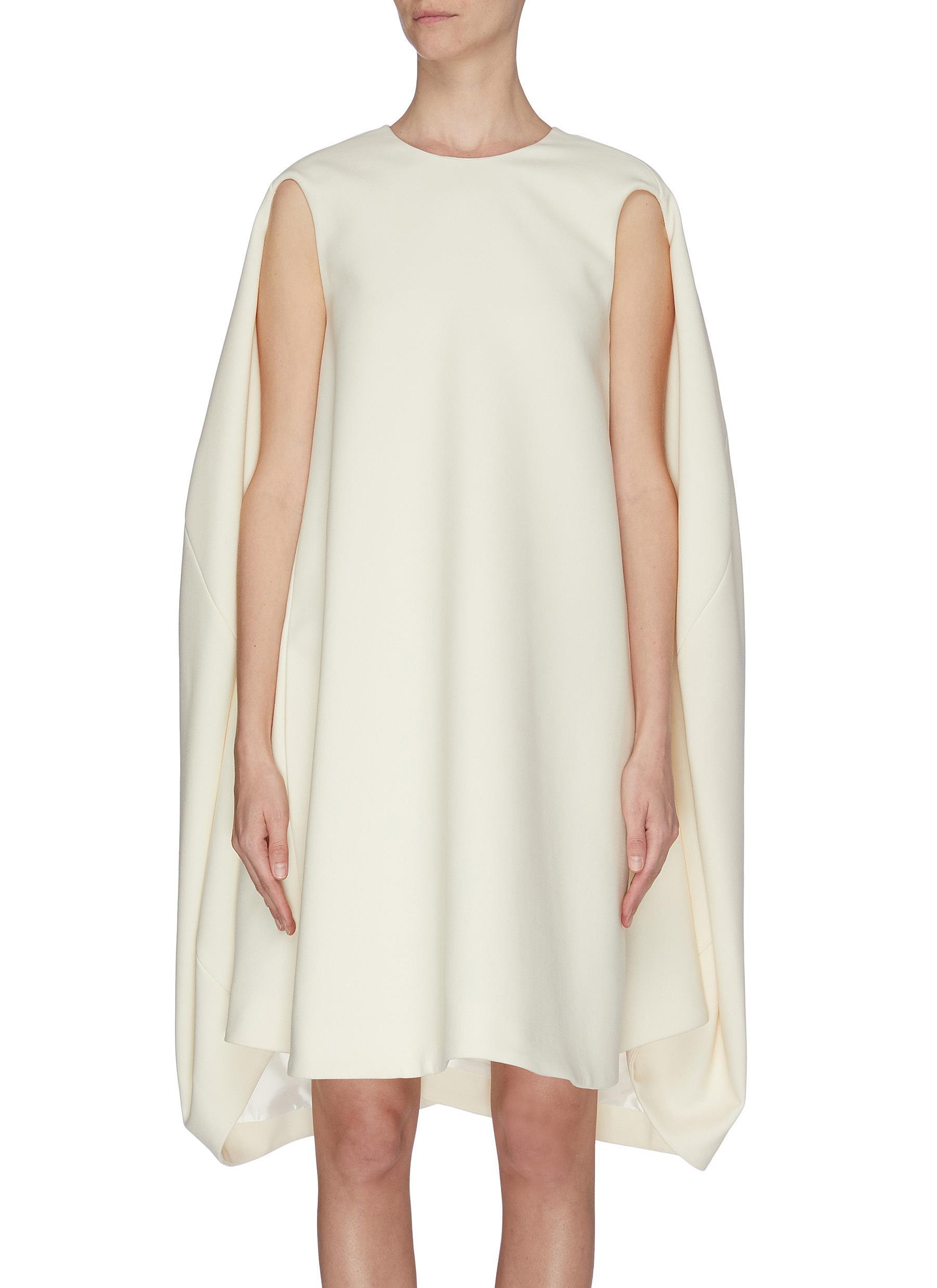 shop Nina Ricci Gabardine wool shift dress online