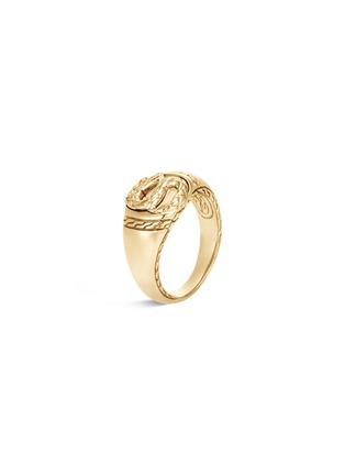 Main View - Click To Enlarge - JOHN HARDY - 'Legends Naga' 18k gold signet ring