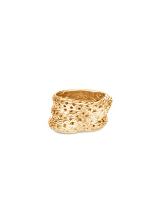 Detail View - Click To Enlarge - JOHN HARDY - Classic Chain Tiga' 18k gold ring