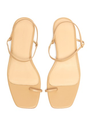 Detail View - Click To Enlarge - STUDIO AMELIA - '1.3' strappy slingback leather sandals