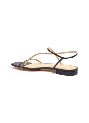 - STUDIO AMELIA - '1.2' strappy slingback leather sandals
