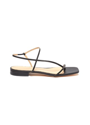 Main View - Click To Enlarge - STUDIO AMELIA - '1.2' strappy slingback leather sandals