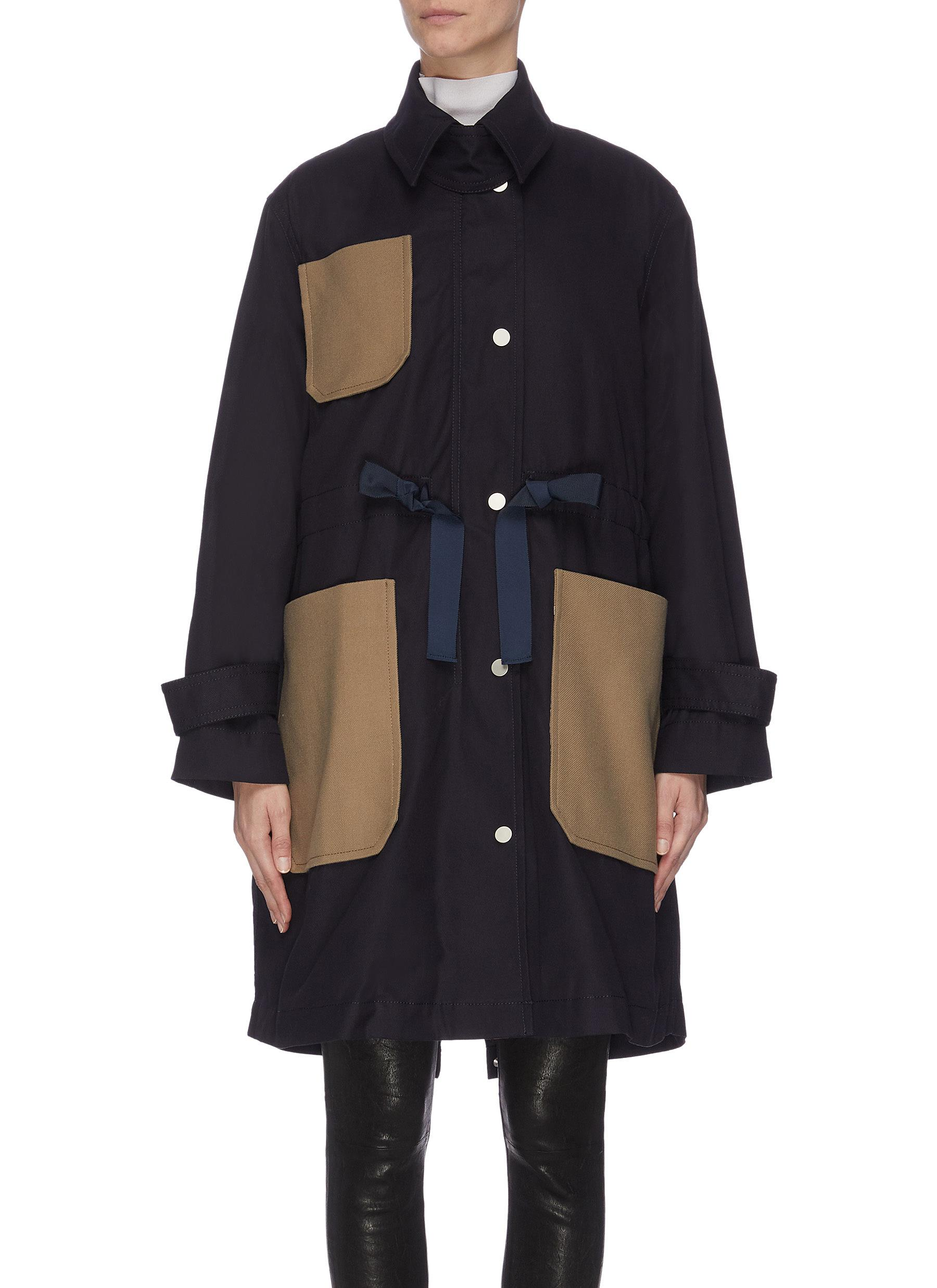 shop Comme Moi Quilted down jacket online