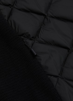 - CANADA GOOSE - 'Hybridge' quilted knit hoody
