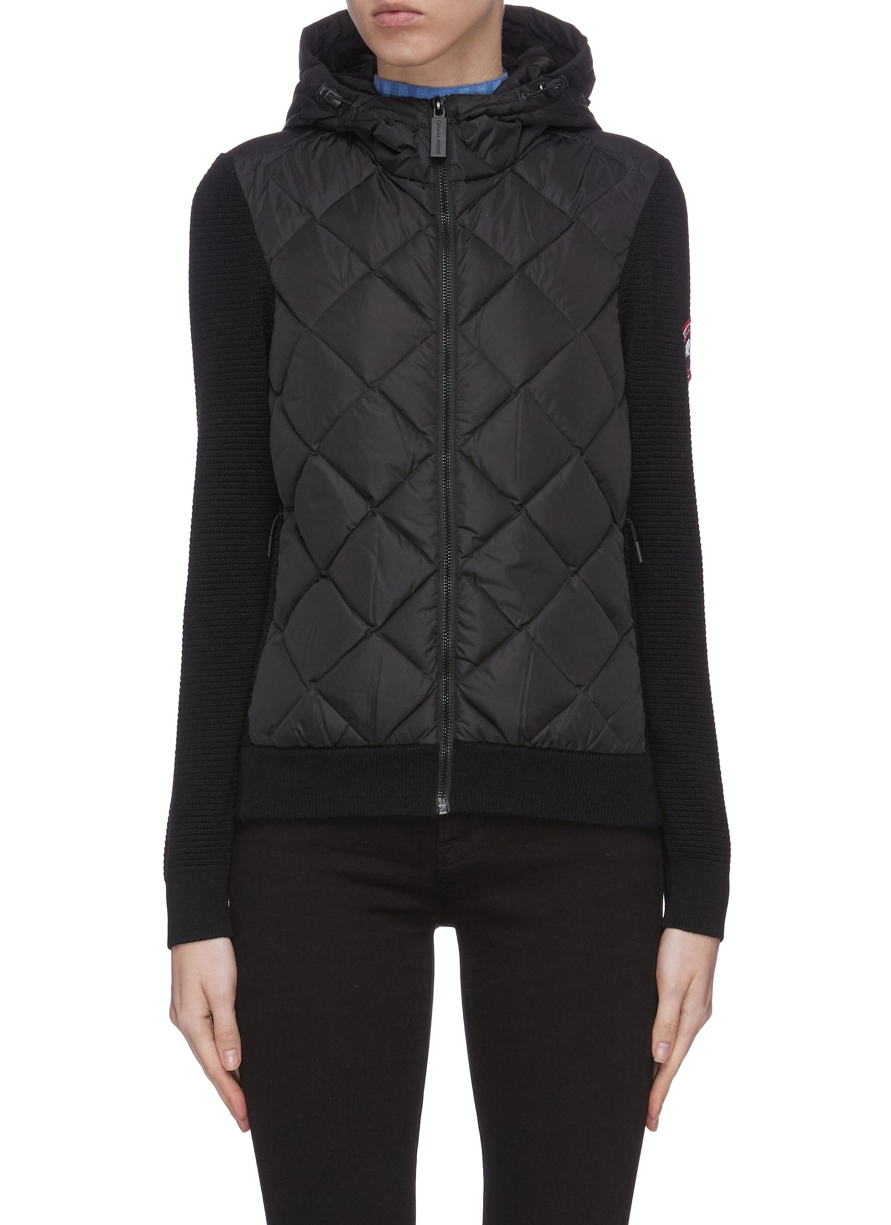 Buy Canada Goose Jackets 'Hybridge' quilted knit hoody