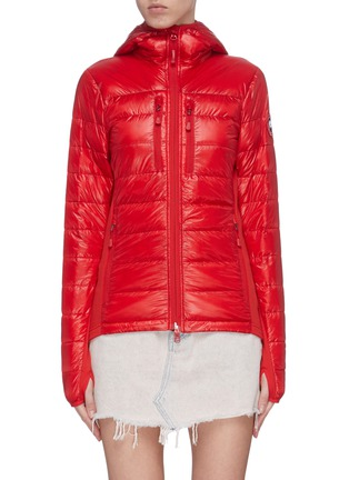 Main View - Click To Enlarge - CANADA GOOSE - 'Hybridge Lite' hooded puffer jacket