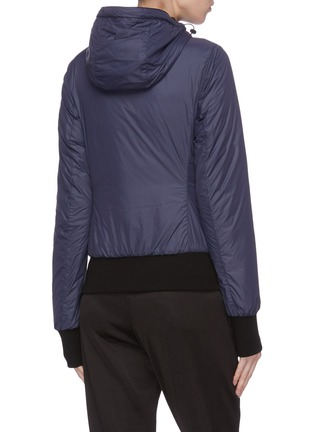 Back View - Click To Enlarge - CANADA GOOSE - Hooded cuff puffer jacket