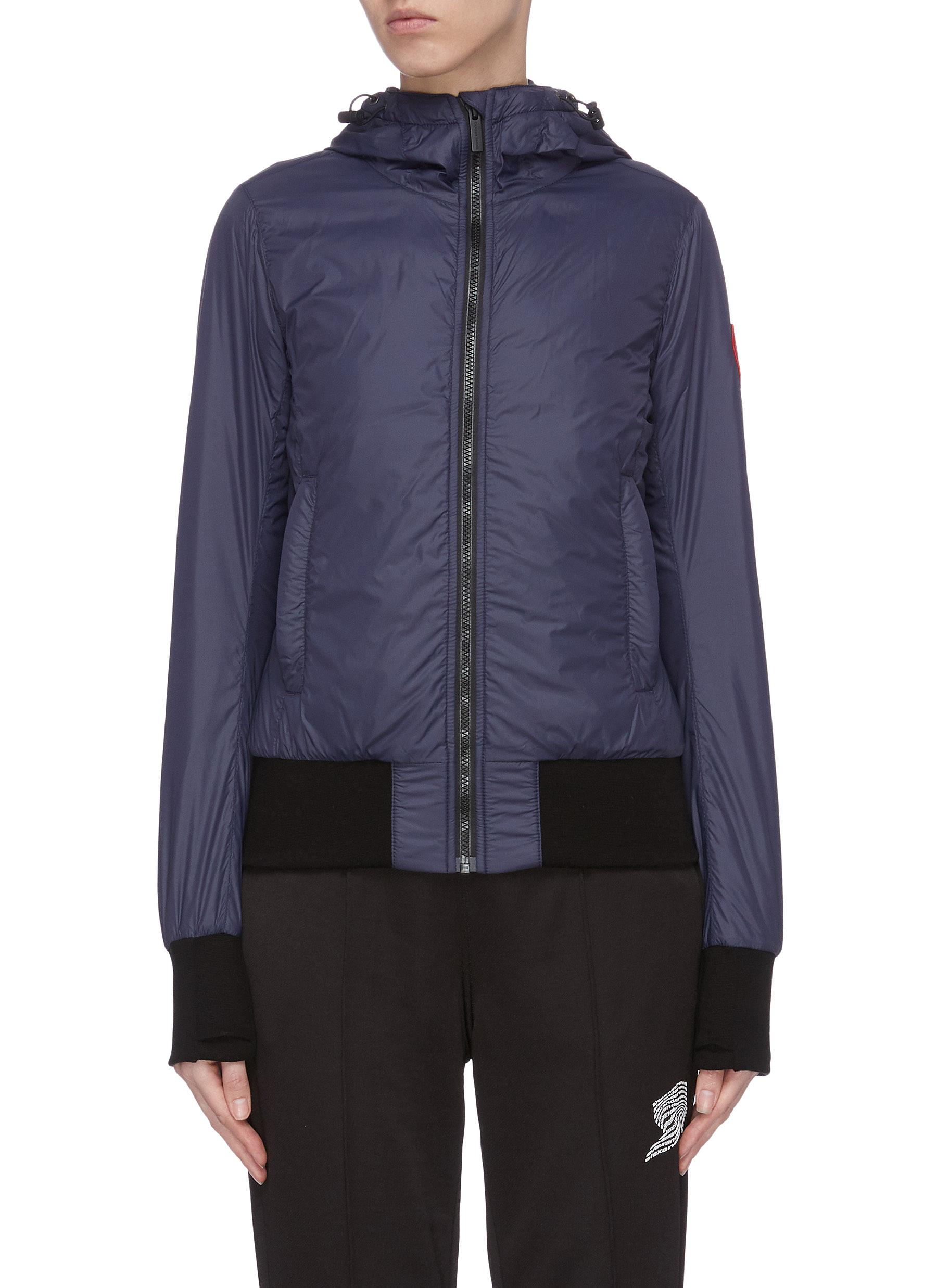 shop Canada Goose Hooded cuff puffer jacket online