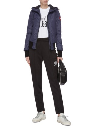 Figure View - Click To Enlarge - CANADA GOOSE - Hooded cuff puffer jacket