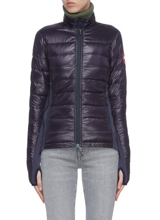 Main View - Click To Enlarge - CANADA GOOSE - 'Hybridge Lite' outseam stand collar puffer jacket