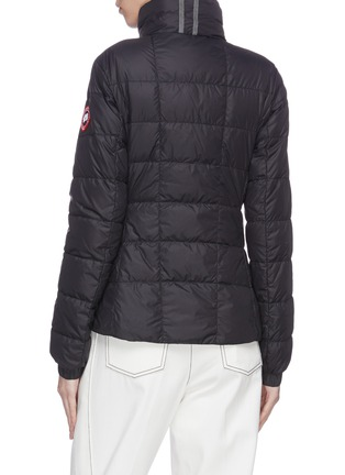Back View - Click To Enlarge - CANADA GOOSE - 'Abbott' stand collar puffer jacket