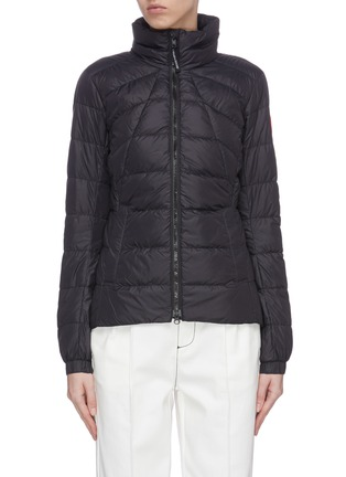 Main View - Click To Enlarge - CANADA GOOSE - 'Abbott' stand collar puffer jacket