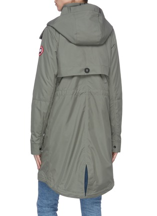 Back View - Click To Enlarge - CANADA GOOSE - 'Cavalry' trench coat