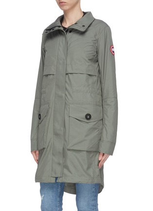 Front View - Click To Enlarge - CANADA GOOSE - 'Cavalry' trench coat