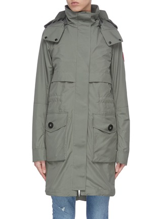 Main View - Click To Enlarge - CANADA GOOSE - 'Cavalry' trench coat