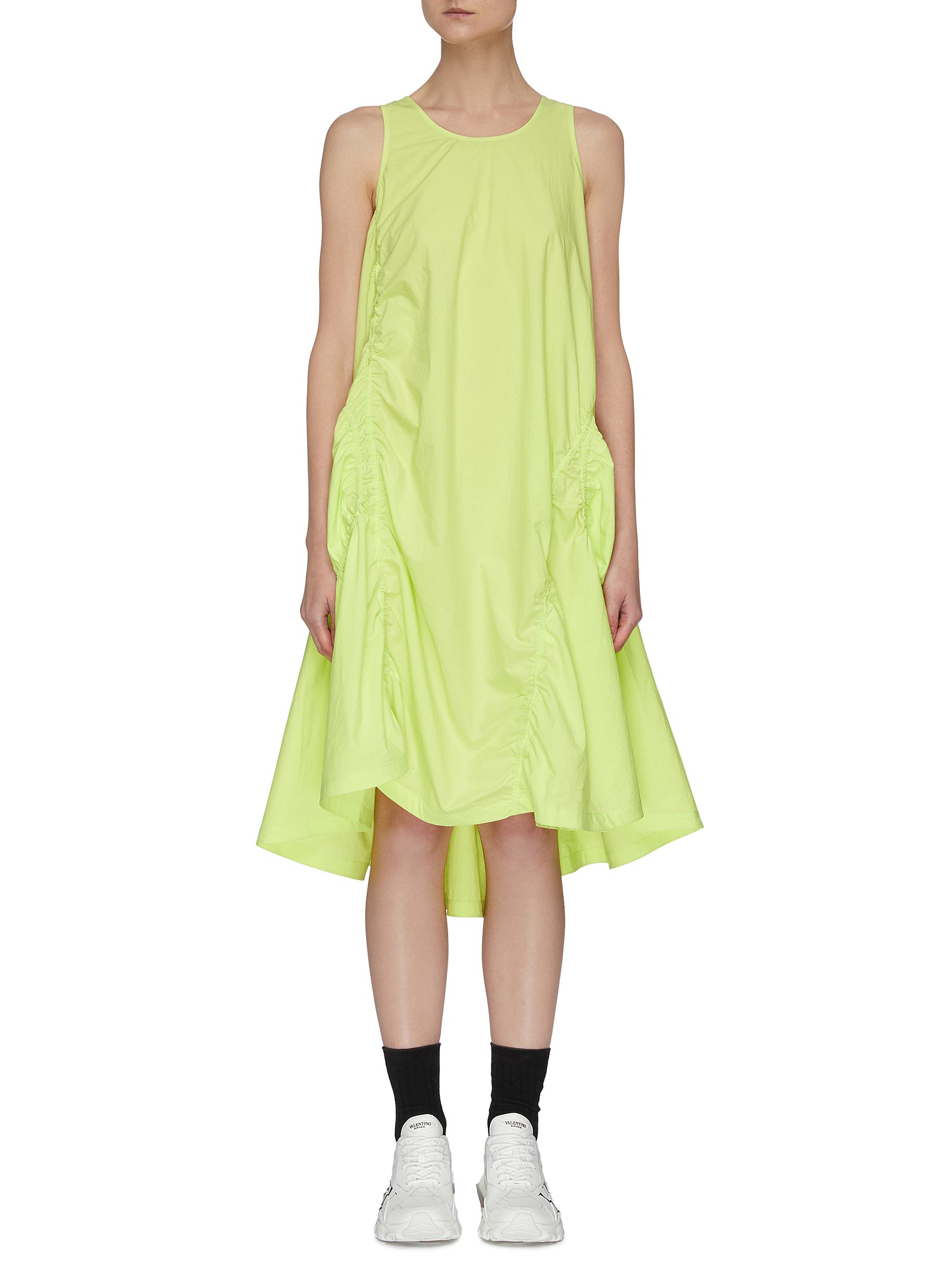 Buy Angel Chen Dresses Elastic Detail Cut Out Back Dress