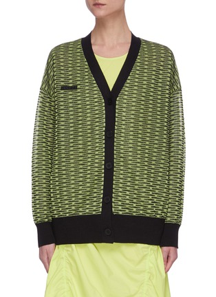 Main View - Click To Enlarge - ANGEL CHEN - Neon Cardigan