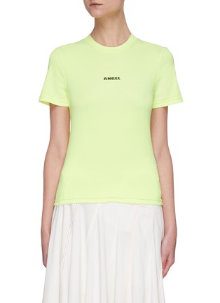 Main View - Click To Enlarge - ANGEL CHEN - Neon Logo T-shirt