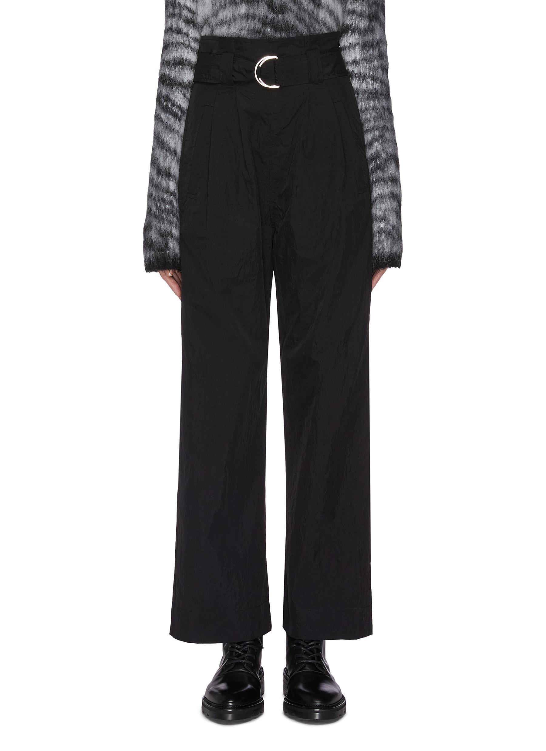 shop Ganni Wide leg tech cargo pants online