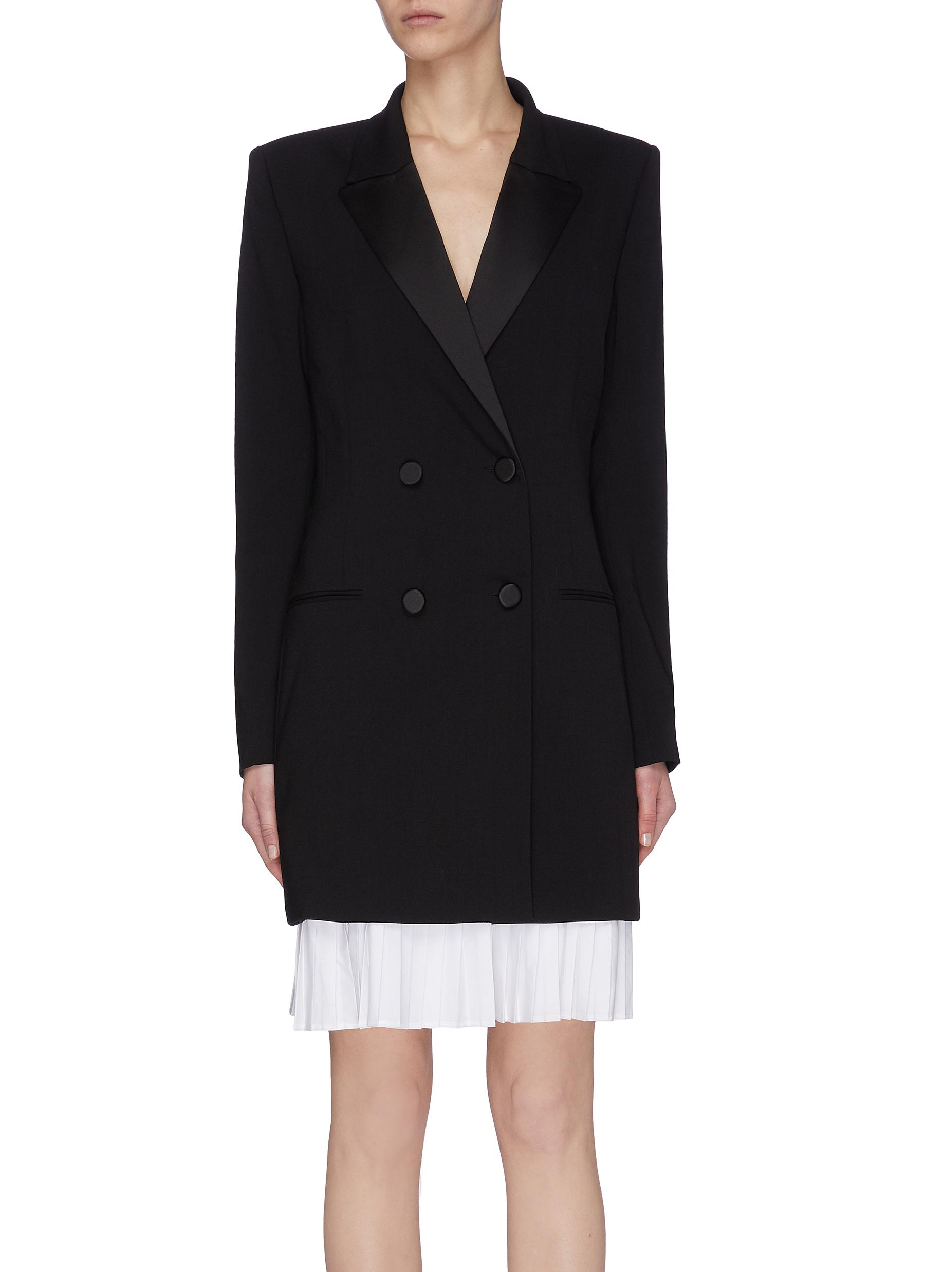 shop Racil Double breast wool jacket dress online