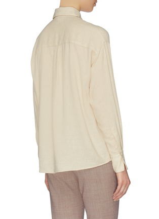 Back View - Click To Enlarge - VINCE - Button down shirt