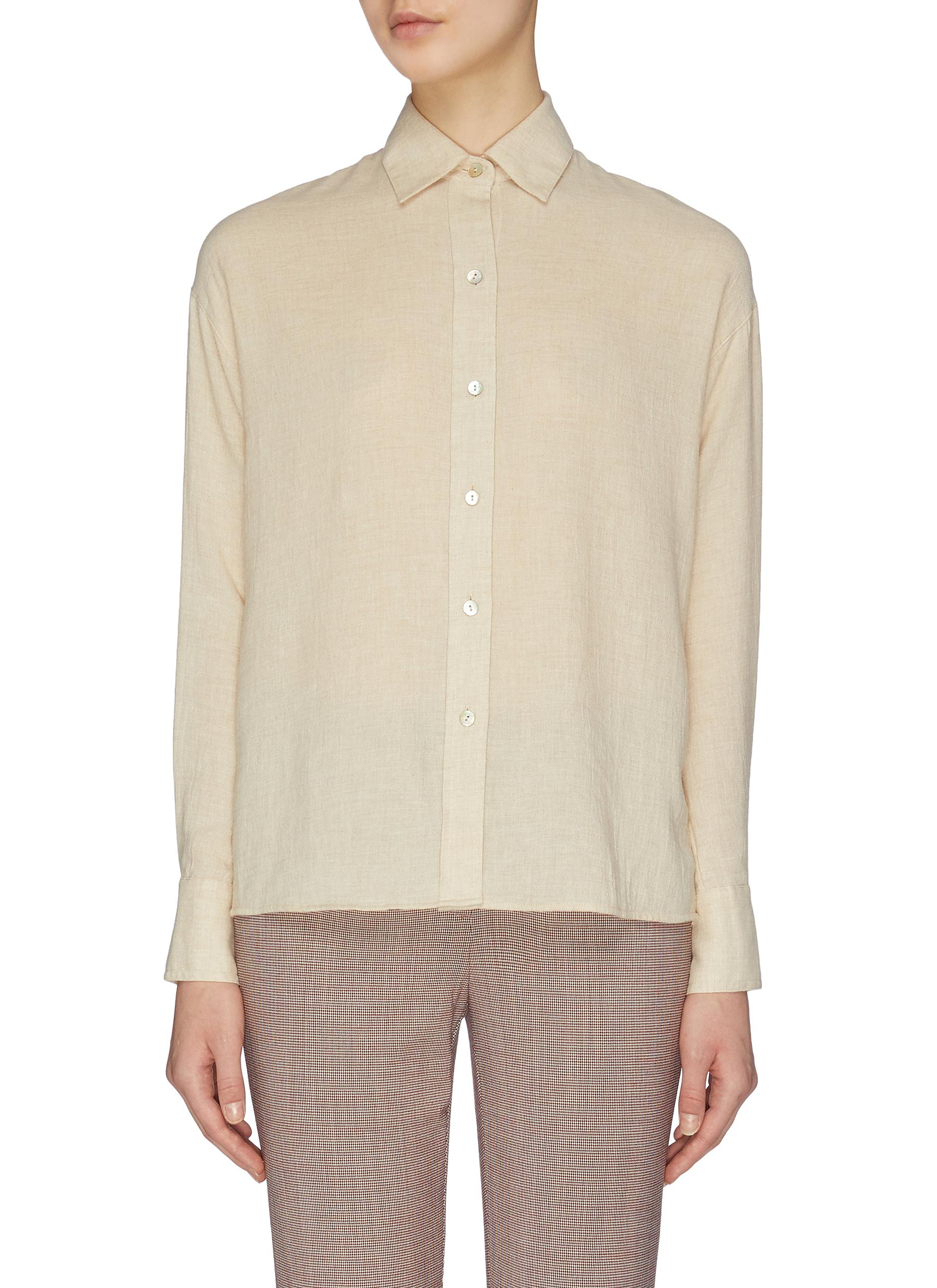 Buy Vince Tops Button down shirt
