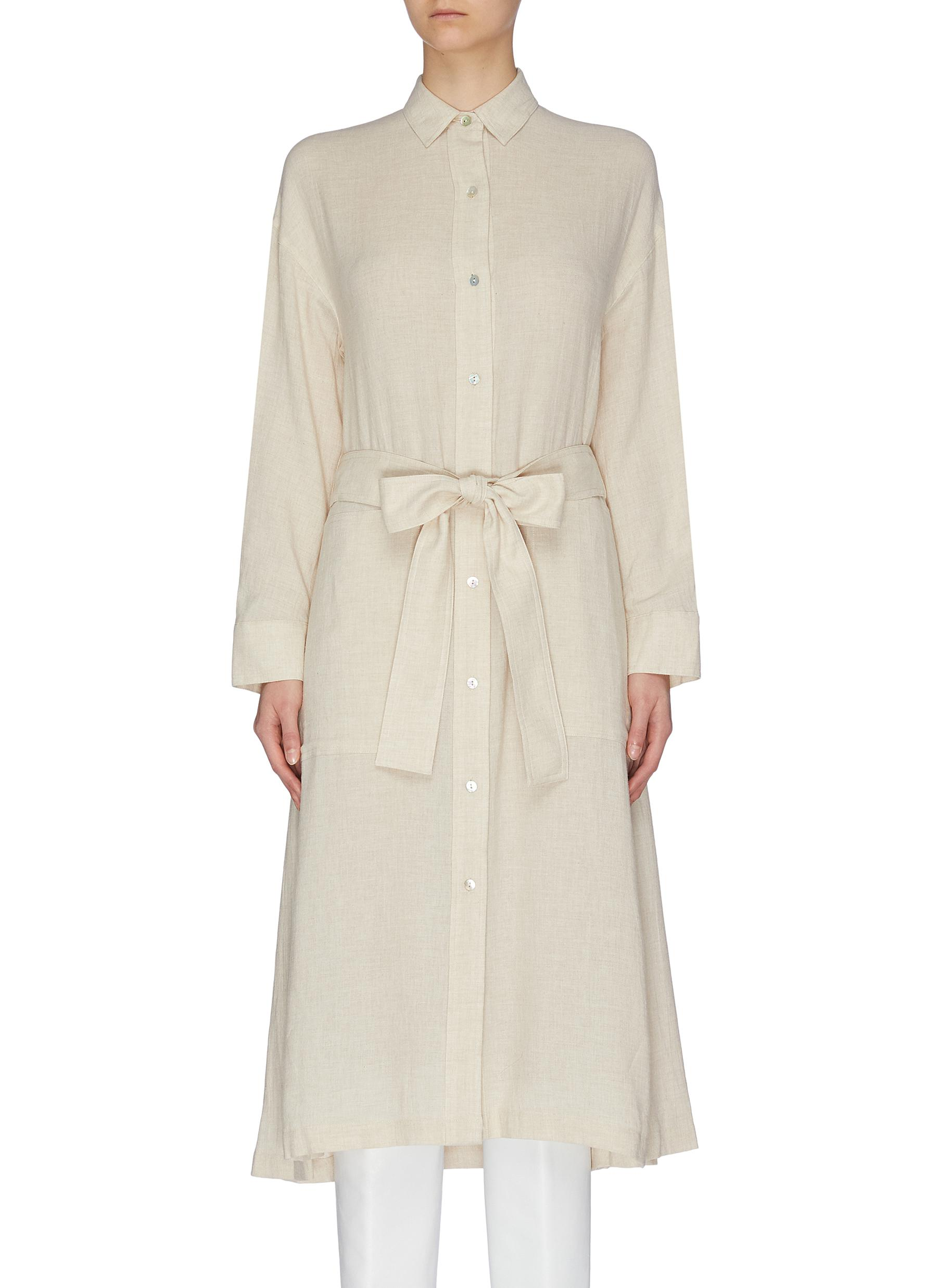 shop Vince Belted shirt dress online