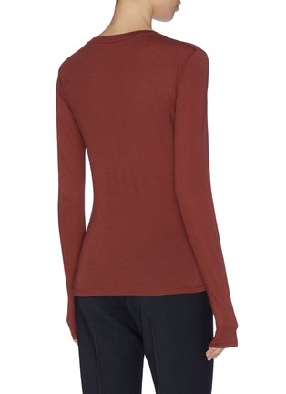 Back View - Click To Enlarge - VINCE - Essential crew top