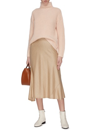 Figure View - Click To Enlarge - VINCE - Lofty rib turtleneck sweater