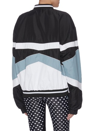 Back View - Click To Enlarge - P.E NATION - 'Dominion' reversible star print bomber jacket