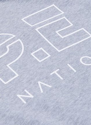 - P.E NATION - 'Free Formation' short sleeve hoodie