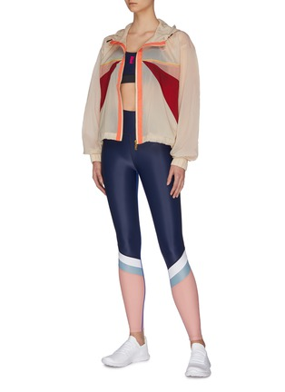 Figure View - Click To Enlarge - P.E NATION - 'Extend' contrast panel performance jacket