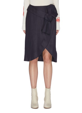 Main View - Click To Enlarge - VICTORIA, VICTORIA BECKHAM - Bow waist pencil skirt