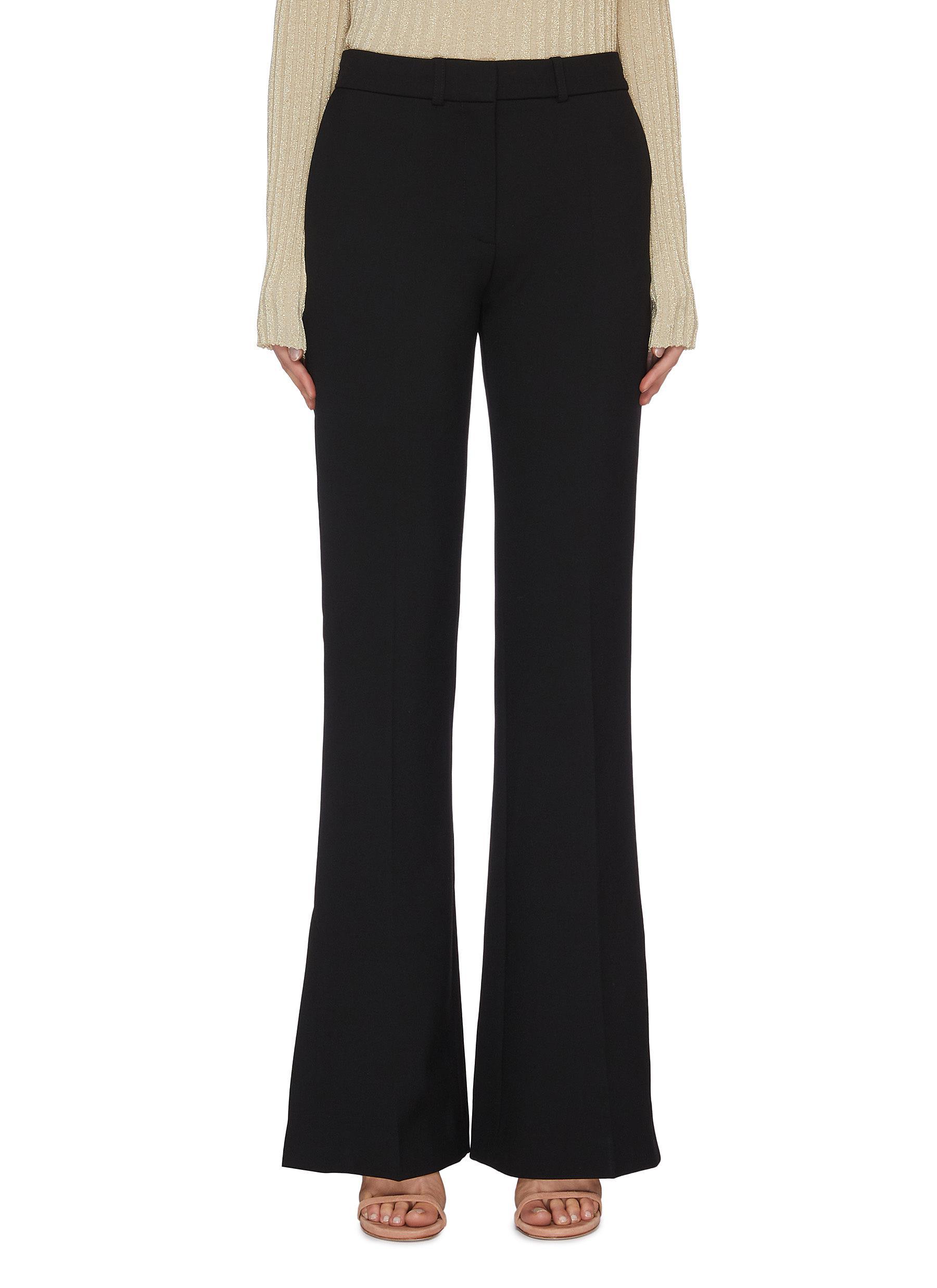 Buy Victoria, Victoria Beckham Pants & Shorts 'Victoria' split hem flared tuxedo pants