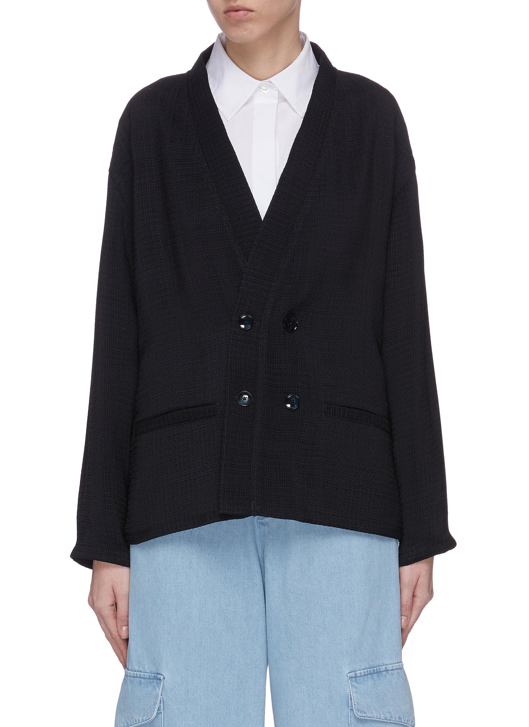 Buy Barena Knitwear 'Kimo' double breasted cardigan