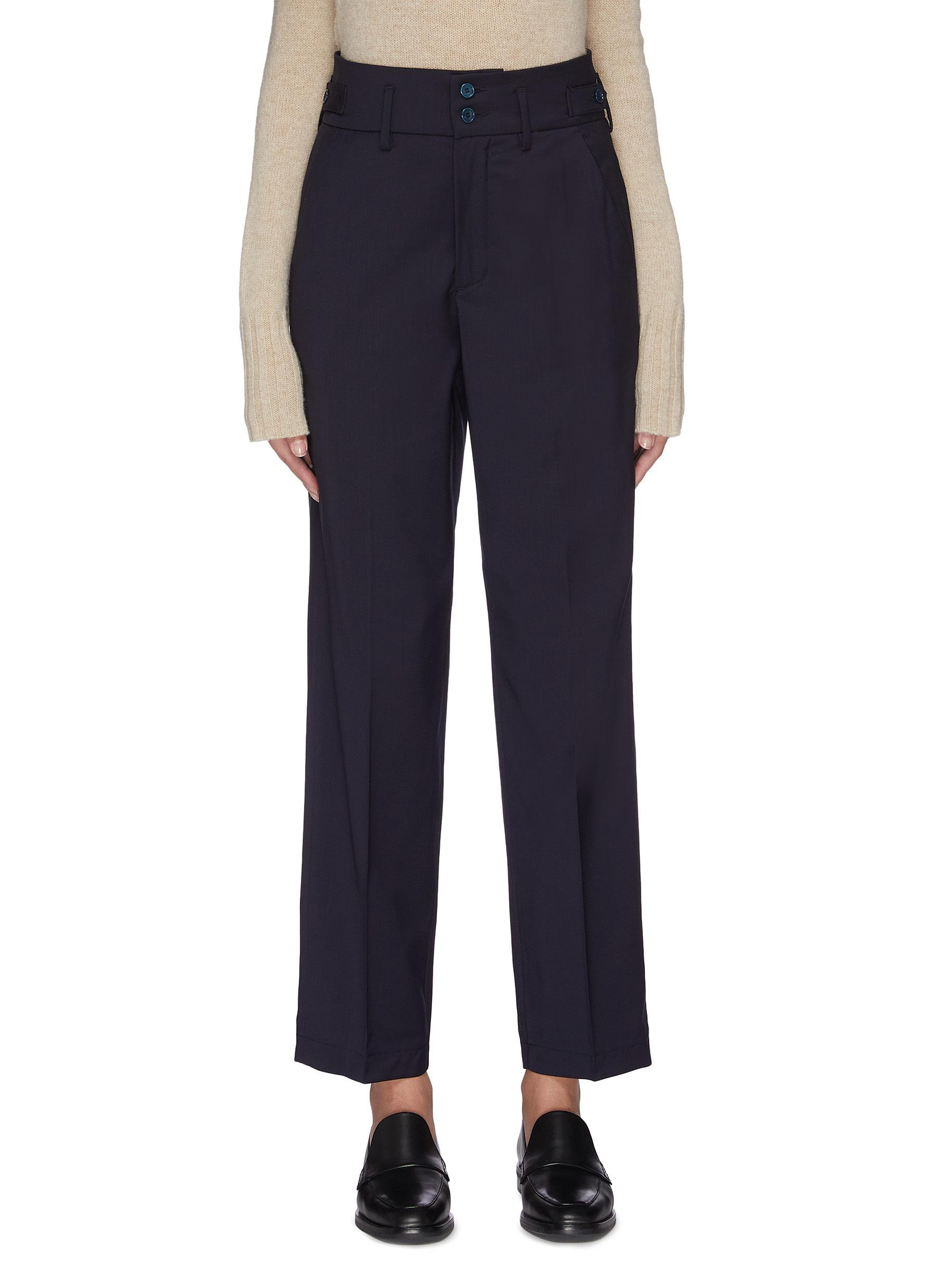Buy Barena Pants & Shorts 'Franco' double button virgin wool suiting pants