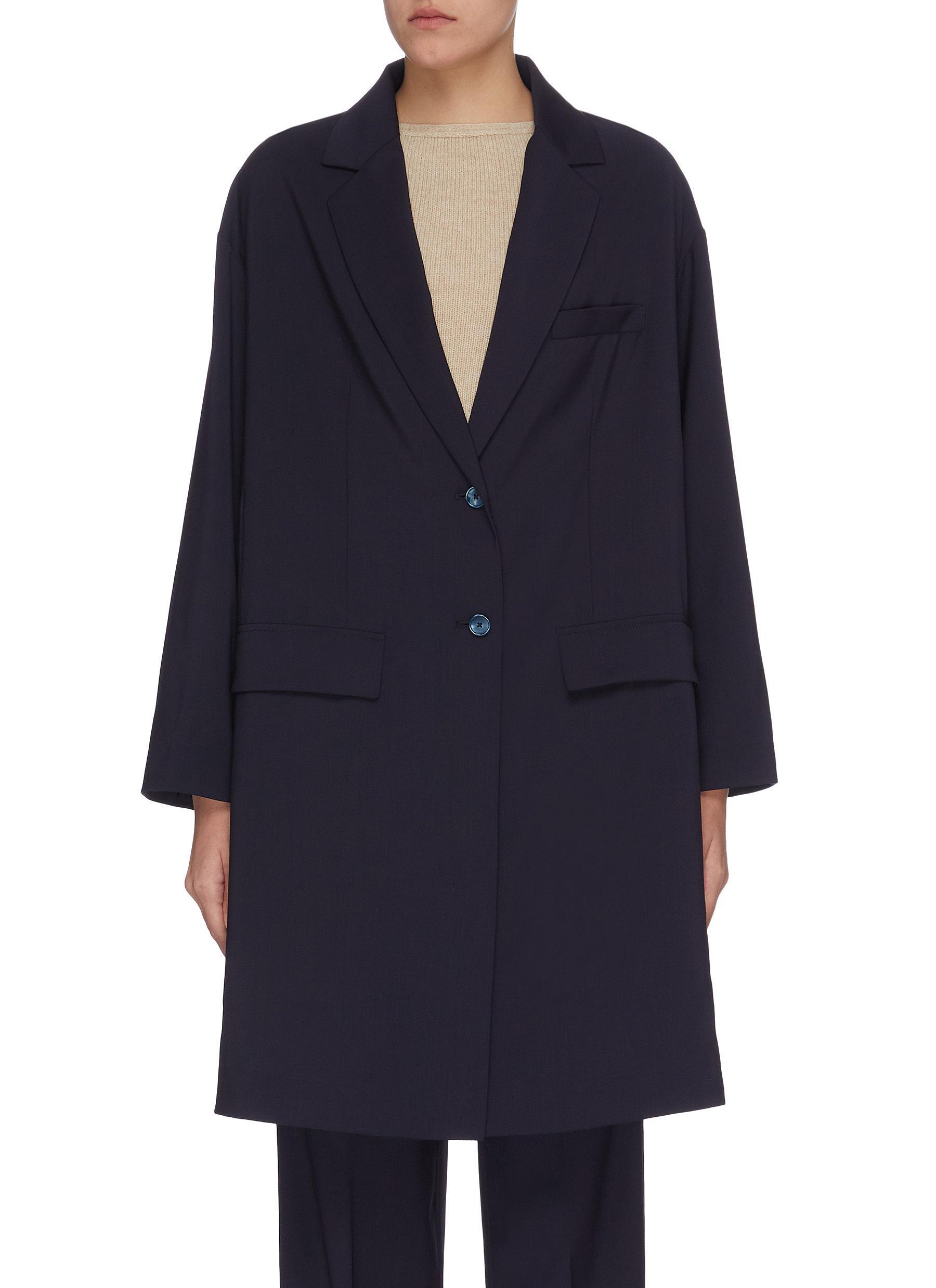 shop Barena 'Giordana' notch lapel overcoat online