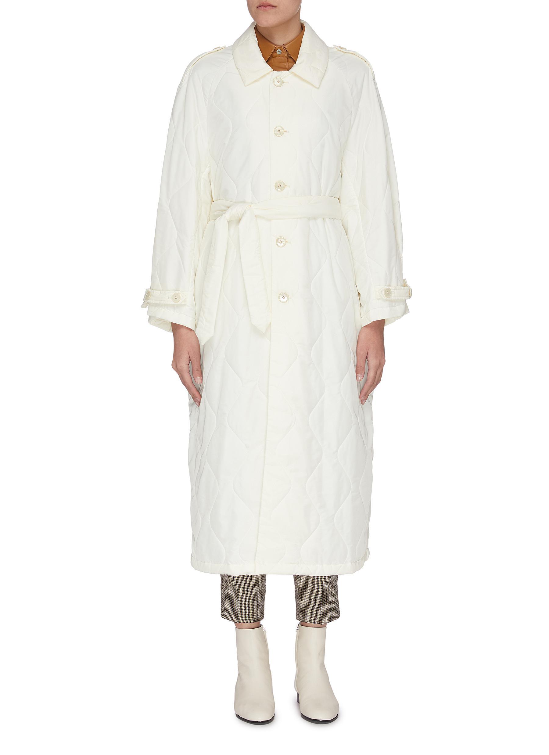 shop Barena 'Vaghezza' quilted raglan coat online
