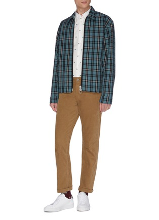 Figure View - Click To Enlarge - PS PAUL SMITH - Multi-print shirt