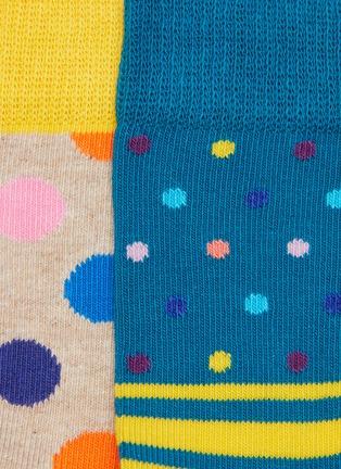 Detail View - Click To Enlarge - HAPPY SOCKS - Big Dot kids socks 2-pack set